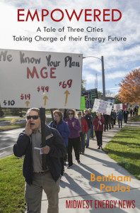 MG&E Protest at Public Service Commission in Madison, WI